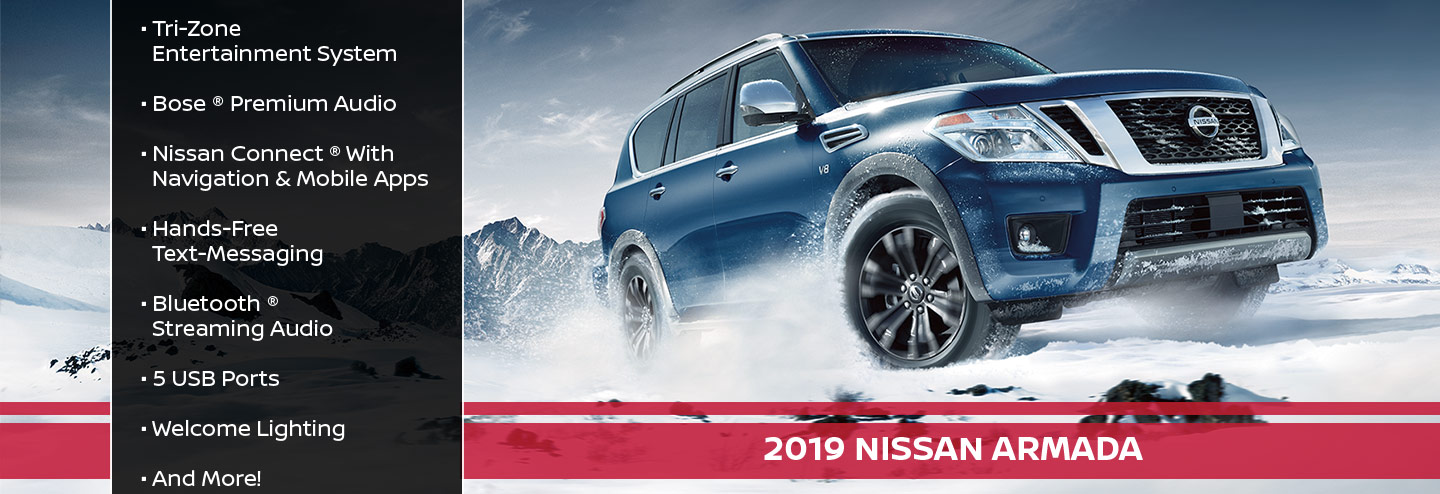 New 2019 Nissan Armada Offer