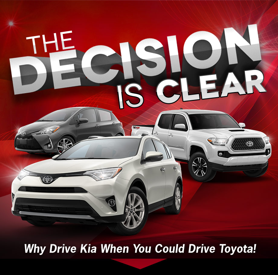 See Why You Should Choose Toyota Over Kia