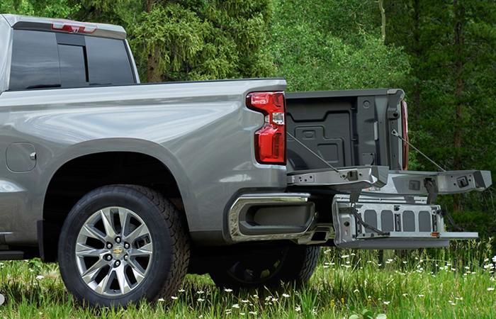 2021 Chevy Silverado 1500 truck bed
