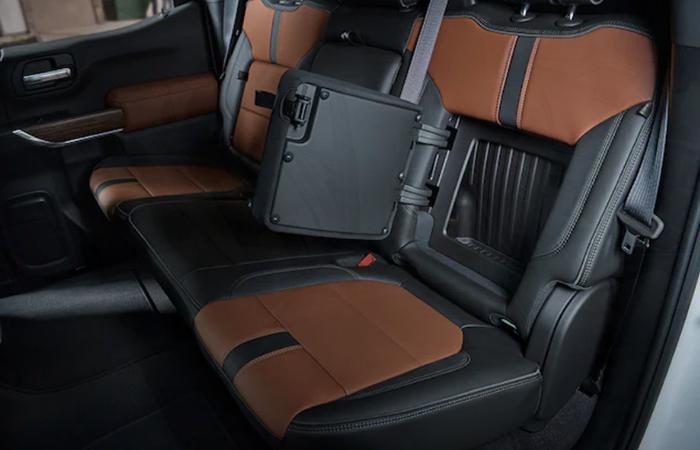 2021 Chevy Silverado 1500 backseat