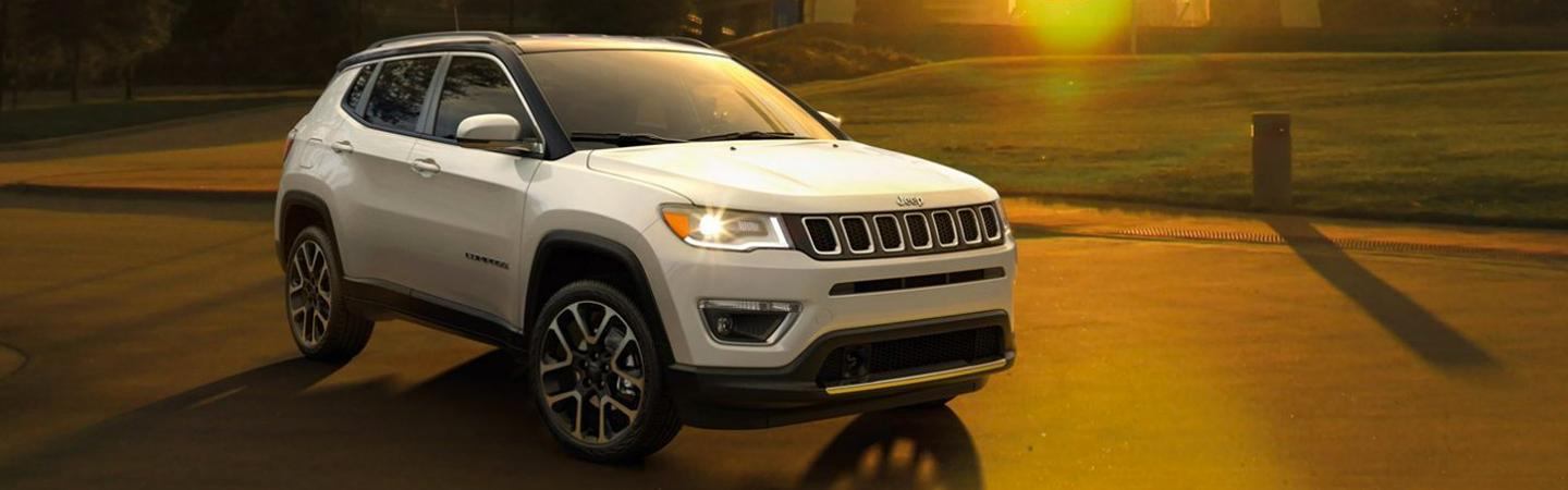 New 2020 Jeep Compass for sale at Marlow Motor Jeep dealer in Front Royal VA.