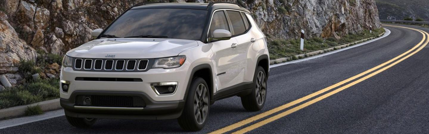 Picture of the new 2020 Jeep Compass