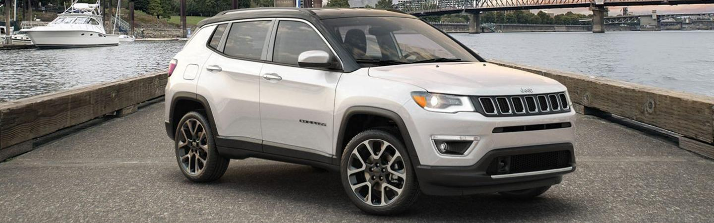 Exterior of the 2020 Jeep Compass