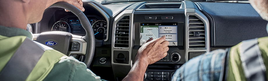 Safety features and interior of the 2018 Ford F-150 - available at Coccia Ford Lincoln in Wilkes-Barre, PA