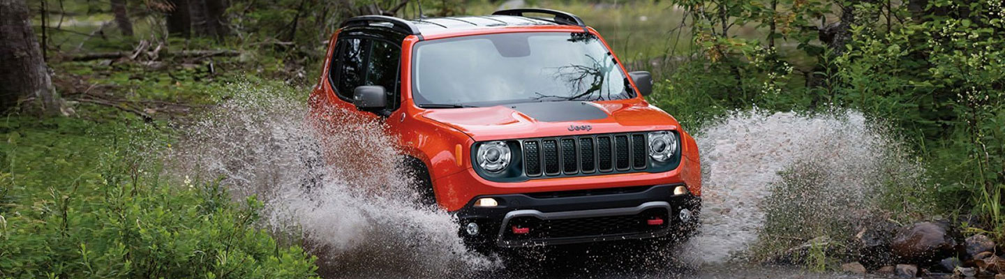 The 2020 Jeep Renegade is available at Marlow Jeep dealership in Front Royal.