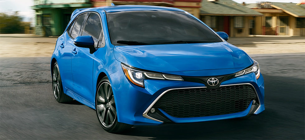 The 2019 Toyota Corolla Hatchback is available at our Toyota dealership in Fort Lauderdale, FL.