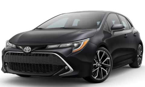2019 Corolla Hatchback XSE available at our Toyota dealership near Fort Lauderdale, FL.