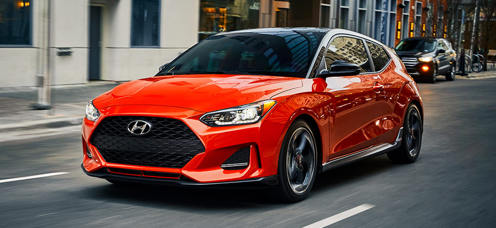 The 2019 Hyundai Veloster is available at our Hyundai dealership in Reno