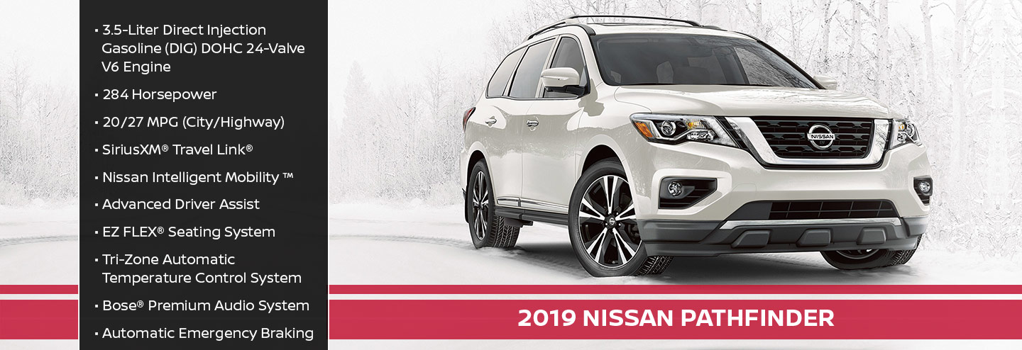 New 2019 Nissan Pathfinder Offer