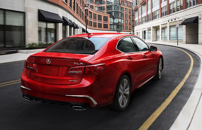 Picture of the new 2020 Acura TLX