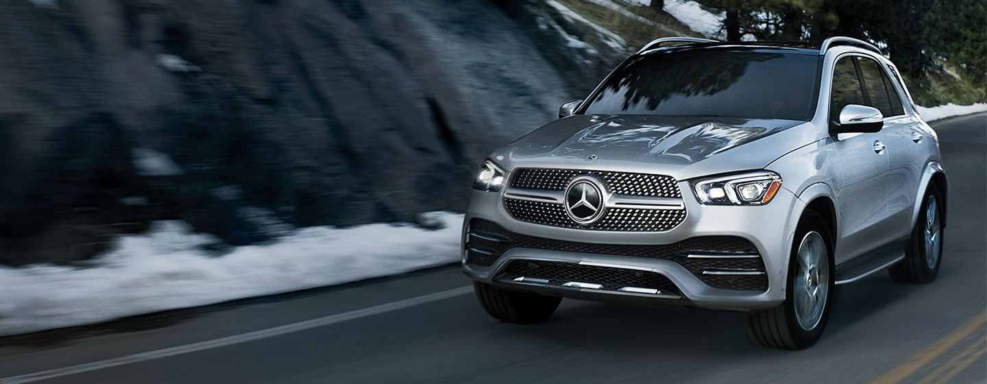 2020 Mercedes-Benz GLE in motion
