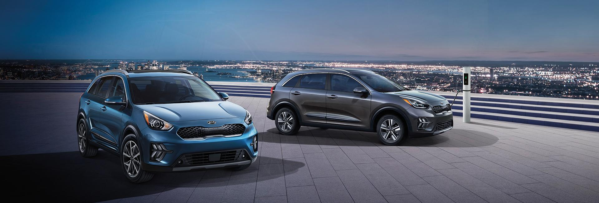Picture of the new 2020 Kia Niro for sale at Spitzer Kia Mansfield.