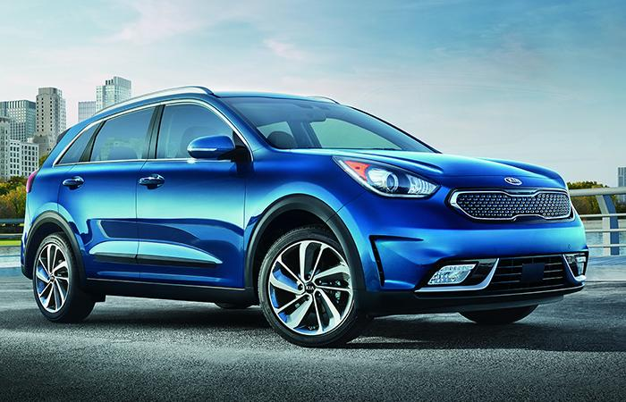 Picture of the new 2020 Kia Niro