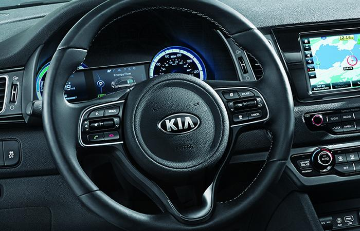 Interior image of the 2020 Kia Niro