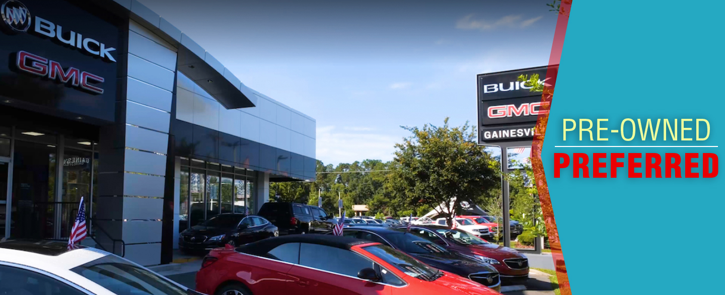 Gainesville Buick GMC, a trusted used car dealership in Gainesville, FL