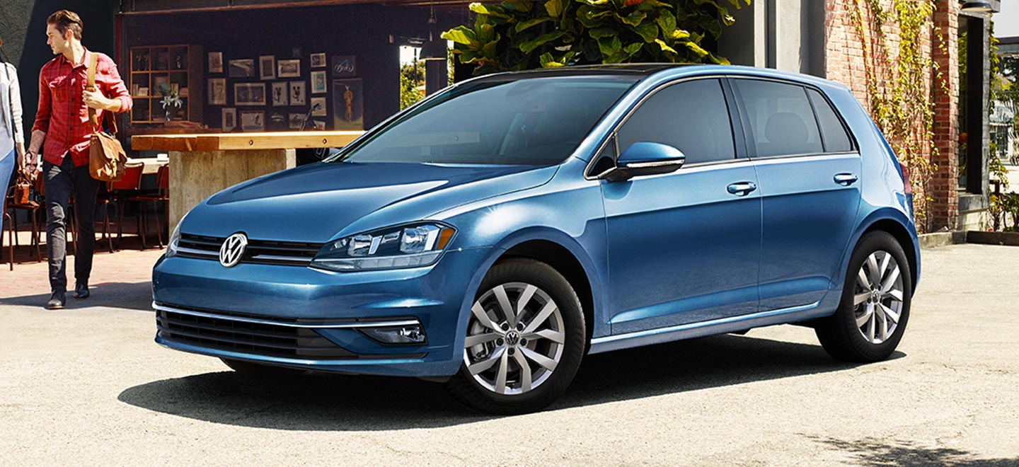 The 2019 Volkswagen Golf is available at our Volkswagen dealership in Miami.