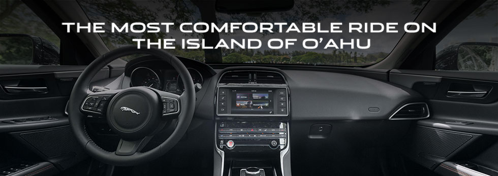 Safety features and interior of the 2018 Jaguar XE - available at Jaguar Honolulu near Kaneohe and Honolulu, HI