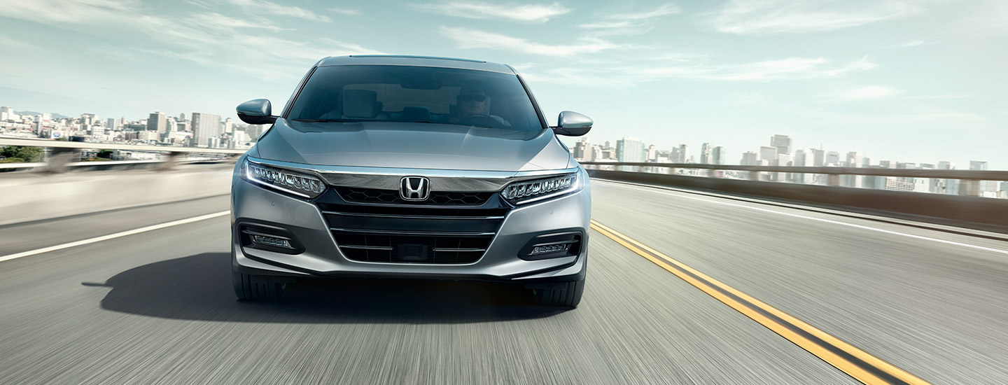 The  2019 Honda Accord at Wright Honda in Uniontown, PA.