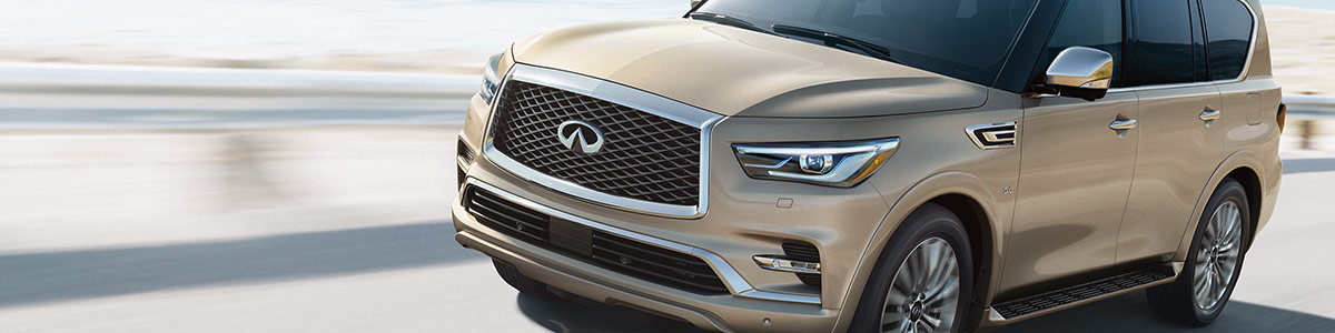 INFINITI QX80 Keeing you safe