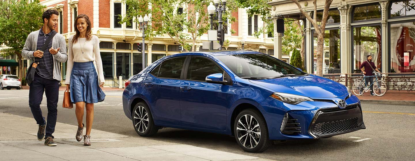 2020 Corolla parked
