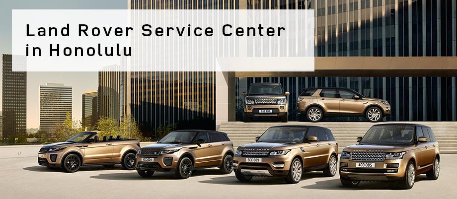 Land Rover Service Center Land Rover Honolulu In O Ahu Hi