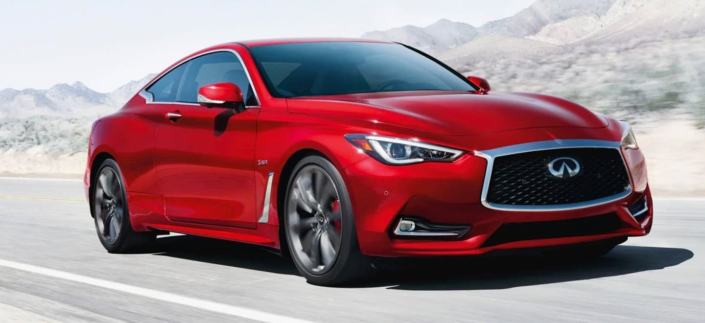 The 2019 INFINITI Q60 is available at our INFINITI dealership in Miami.