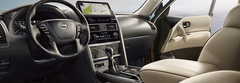 Interior Image Of 2021 Nissan Armada