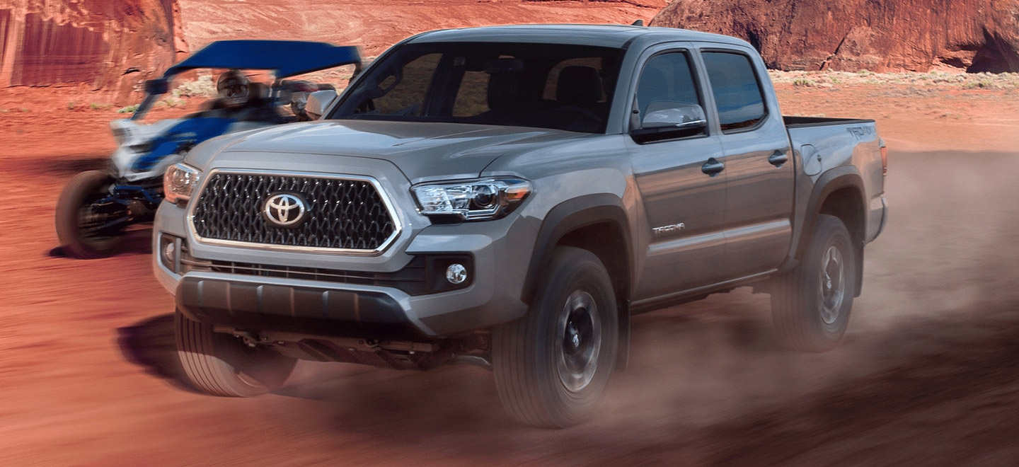 The 2019 Toyota Tacoma is available at our Toyota dealership in Atlanta, GA