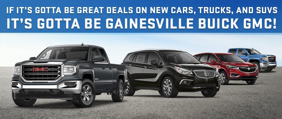 It's Gottta Be Gainesville GMC Buick Monthly Specials