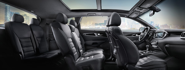 Safety features and interior of the 2019 Kia Sorento - available at Southern Lynnhaven near Virginia Beach, VA