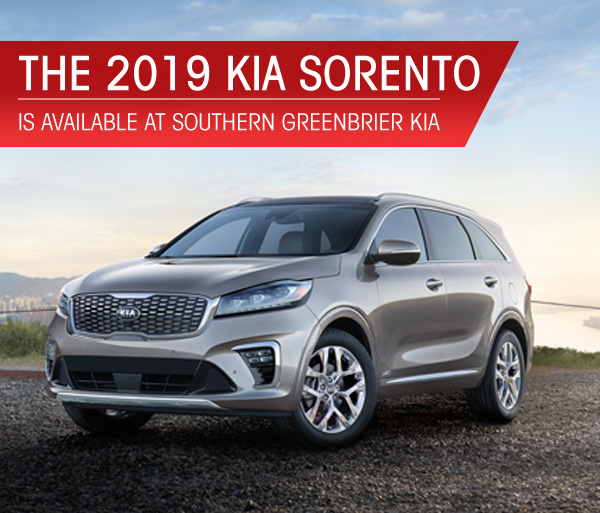 The ]2019 Kia Sorento Is Available At Southern Lynnhaven Near Virginia  Beach, VA