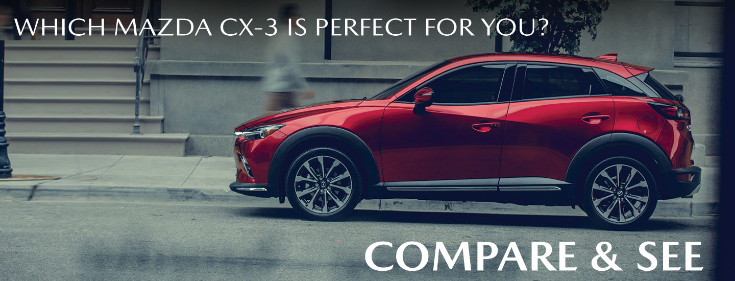 Which Mazda CX-3 Is Perfect For You? | Compare & See