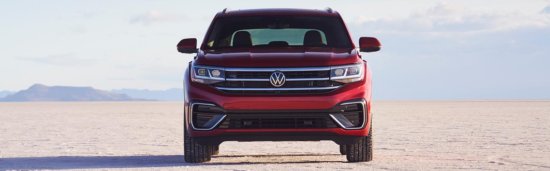 Full front view of the 2021 VW Atlas Cross Sport