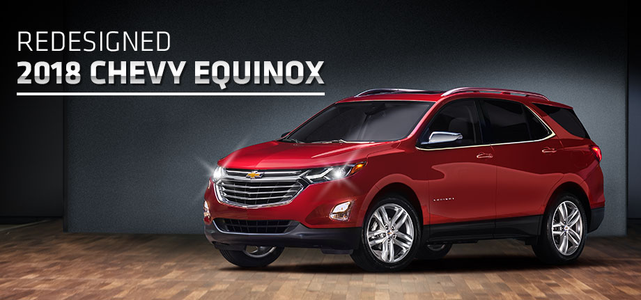 The 2018 Chevrolet Equinox is available at McClinton Chevrolet in Parkersburg near Marietta, OH
