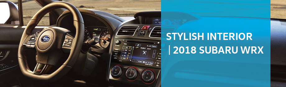 Safety features and interior of the Subaru WRX available at Neil Huffman Subaru near Louisville and Lexington, KY