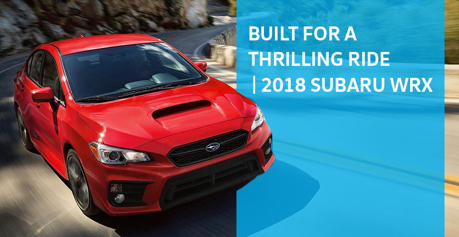 The 2018 Subaru WRX is available at Neil Huffman Subaru in Louisville, KY
