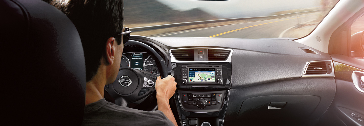 Interior image of the Nissan Sentra available at Tri-State Nissan.