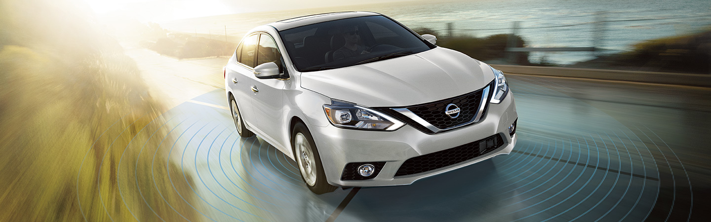 Nissan Sentra in motion
