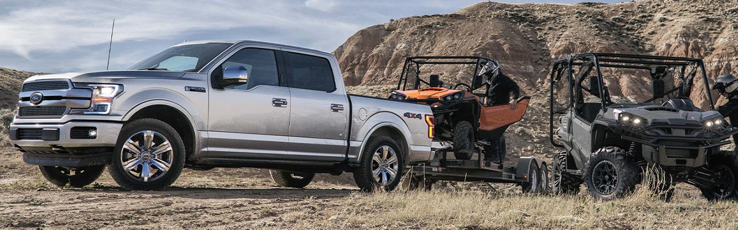2019 Ford F-150 towing