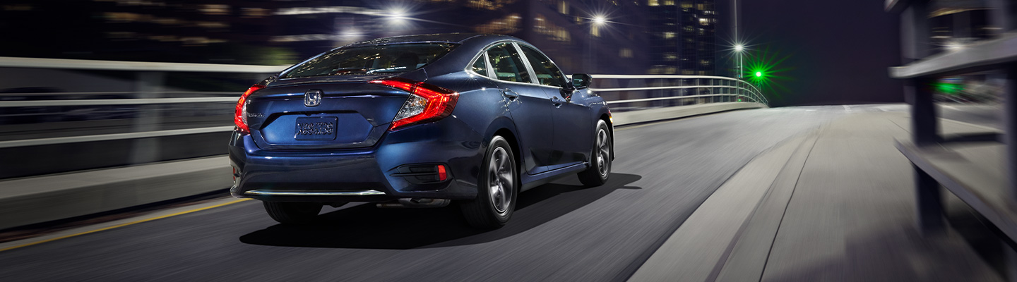 Precision and handling in the 2019 Honda Civic at our Honda dealer in Uniontown, PA.