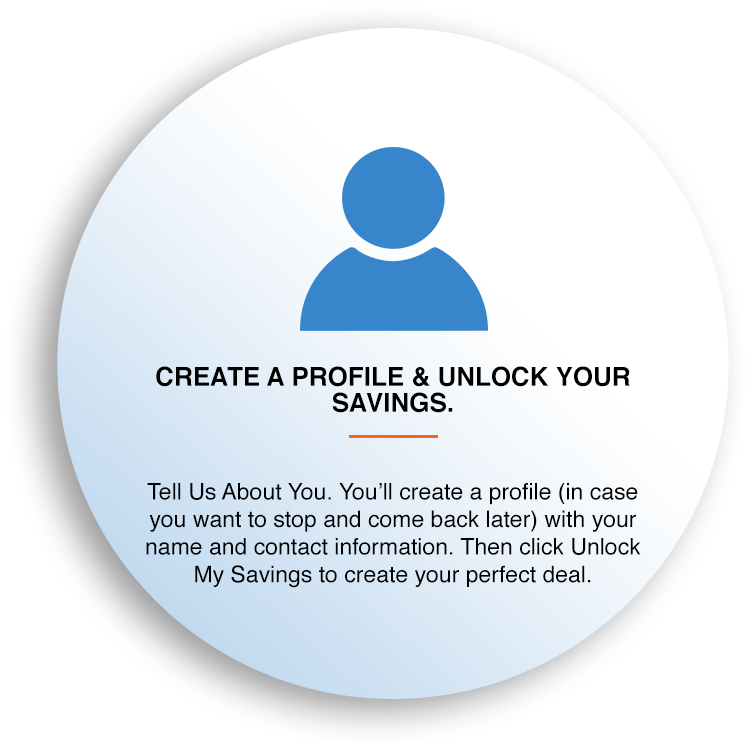 Create a Profile & Unlock Your Savings.