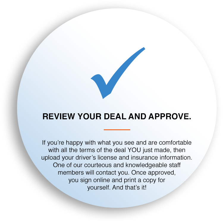 REVIEW YOUR DEAL AND APPROVE.
