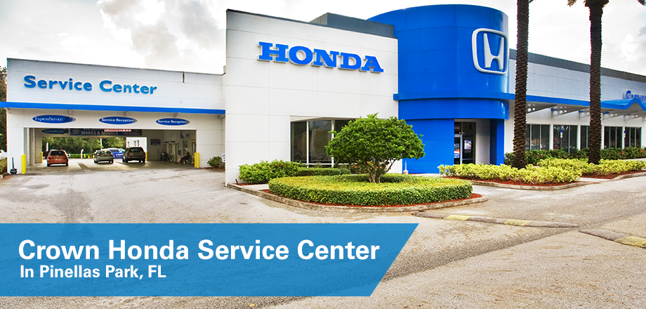 The Crown Honda Service Center Near St. Petersburg, FL