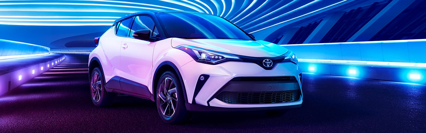2020 Toyota C-HR parked
