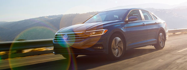 Exterior of the 2018 Volkswagen Jetta is available at Southern Greenbrier Volkswagen near Chesapeake, VA