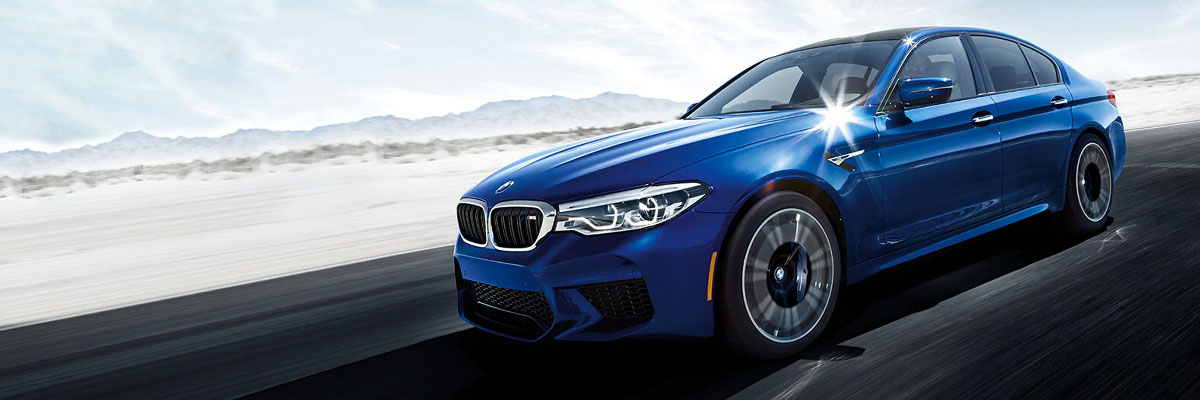 The 2019 BMW M5 is available at Hilton Head BMW