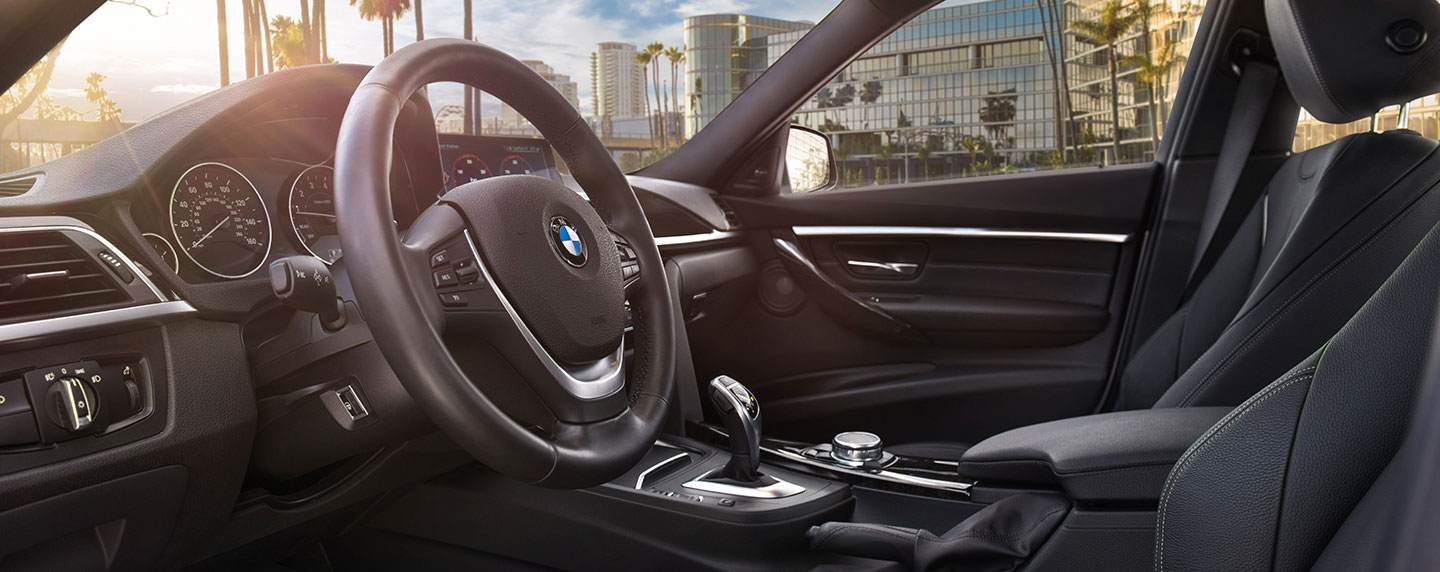 Safety features and interior of the 2018 BMW 3 Series - available at Vista BMW Pompano Beach near Fort Lauderdale, FL