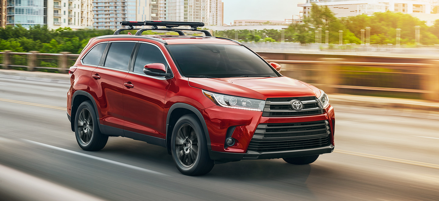 The 2019 Toyota Highlander is available at our Toyota dealership near Fort Lauderdale, FL