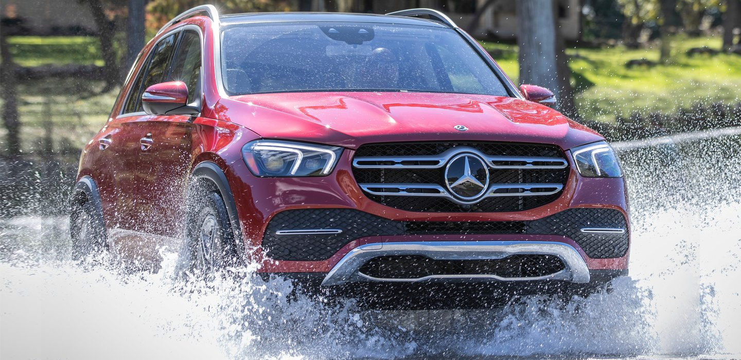 2020 Mercedes-Benz gle suv parked on a summit available at our Mercedes-Benz dealer in Gainesville, Ocala, Orlando, and The Villages