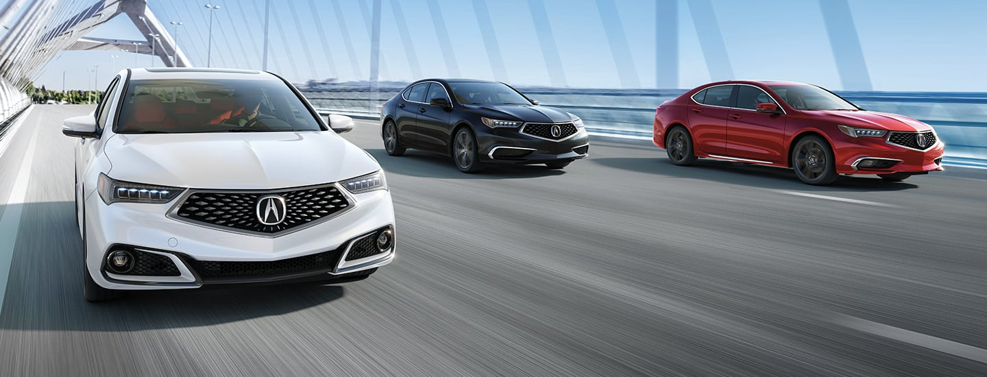 Acura TLX for lease at Spitzer Acura McMurray